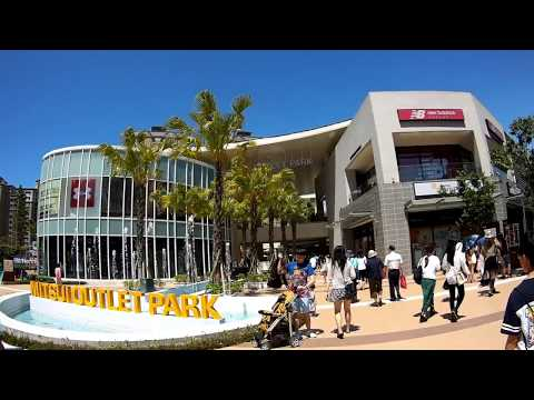Day trip in Taipei | Mitsui Outlet Park Linkou + testing out my new action cam for the first time!