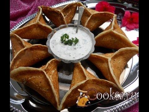 Катаеф арабские блинчики  Пошаговый рецепт с фото