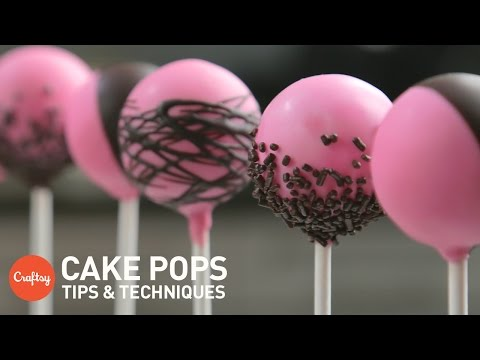 How to make the cake pops smooth