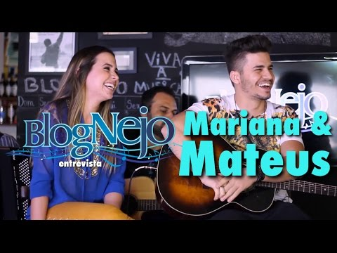 Blognejo Entrevista - Mariana & Mateus