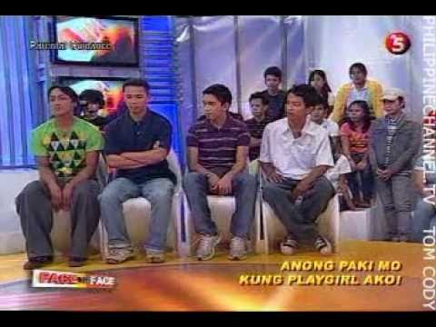 FACE TO FACE ON TV5 EPISODE 187  ANONG PAKI MO, KUNG PLAYGIRL AKO! 34