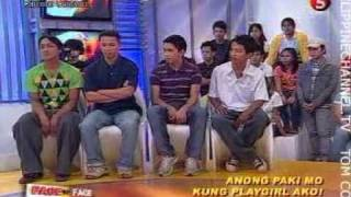 FACE TO FACE ON TV5 EPISODE 187 - ANONG PAKI MO, KUNG PLAYGIRL AKO! (3/4)