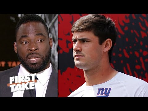 Justin Tuck on the Giants: 'Daniel Jones is perfect for us' | First Take