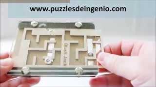Demo Puzzle Black Jack Jean Claude Constantin