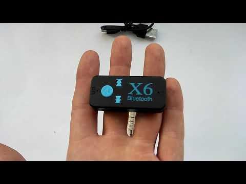 Bluetooth X6 ресивер адаптер для авто (обзор, отзывы, функционал, инструкция на русском)