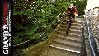 Mit dem Mountainbike Treppen fahren | Auf den Spuren von BMLK2 | #dabeitrage | Leo Kast UMLK #100
