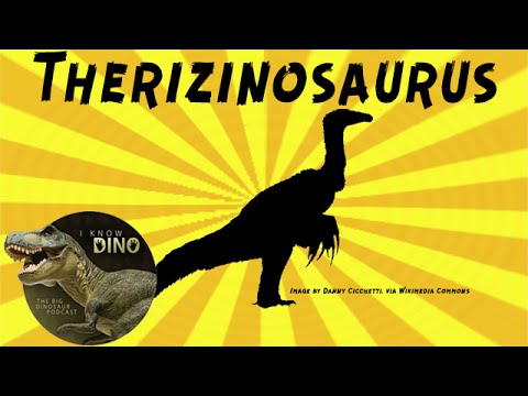 Therizinosaurus: Dinosaur of the Day