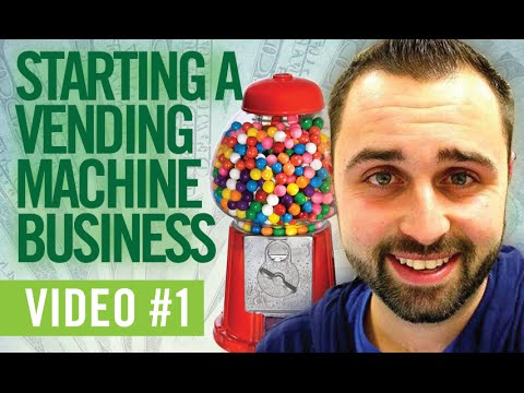 Starting a Vending Machine Business  | Sharing My Idea & Research |  PART 1