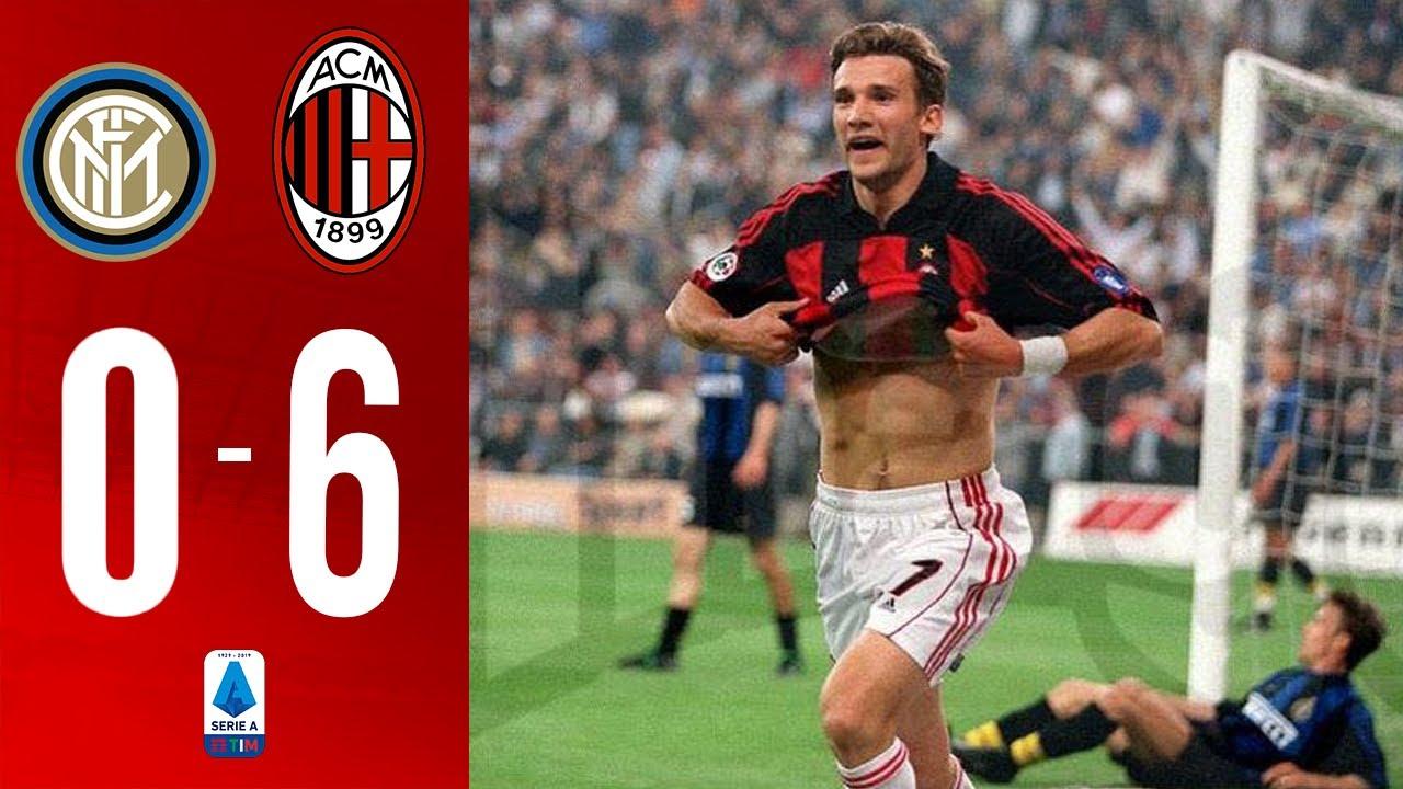 Этот день в истории. 19 лет назад «Милан» нанес «Интеру» самое крупное  поражение в дерби. Видео ⊕ Новости футбола на Footballhd.ru