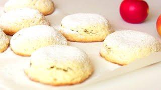 Пирожки песочные с яблоками.Очень простой рецепт от VIKKAvideo