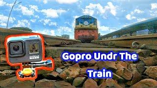 GOPRO HERO8 Under 70KMH Train || Camera Under The Train
