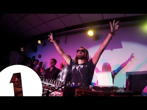 Thumbnail: Scott Mills brings fake David Guetta to Aber *Priceless reactions at end*
