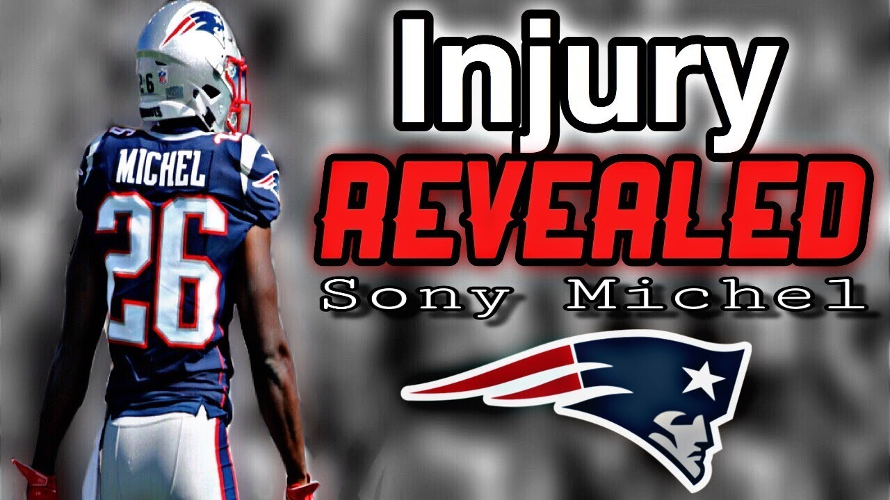 a0eccc48 Patriots RB Sony Michel underwent knee surgery - YouTube