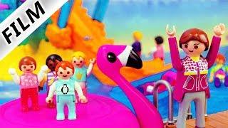 Playmobil Film deutsch | KITA Ausflug in den POLLY POCKET Delfin Aquapark Kinderserie Familie Vogel