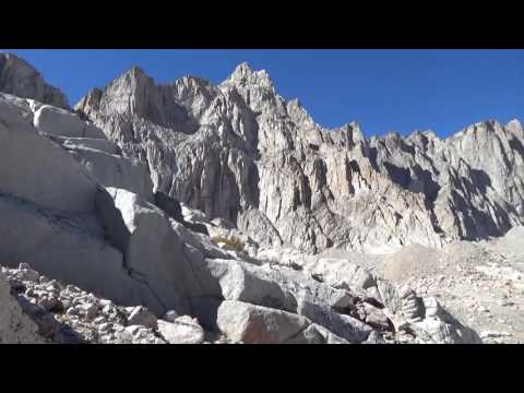 Altitude sickness on Mt. Whitney. What to do? Go Down.