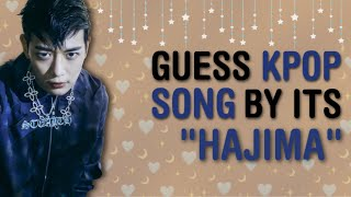 "IMPOSSIBLE TO SOLVE!! GUESS THE 50 KPOP SONG BY ITS ""하지마"" or ""HAJIMA"" 
