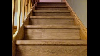 Laminate Flooring On Stairs,stair Renovation Idea,quick-step Flooring