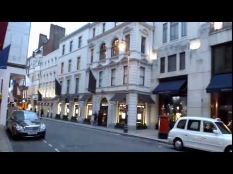 Learning About Shopping Areas In London- Exploring Old Bond Street