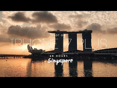 48 Hours in Singapore | Shot on the iPhone 7 Plus (4K)