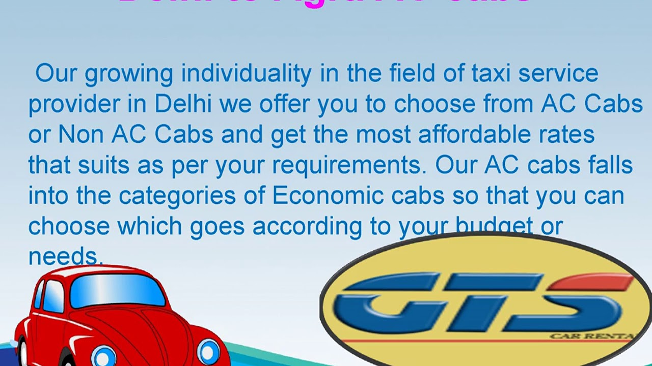 Delhi to Agra Cab Service | Airport taxi | Cheapest prices