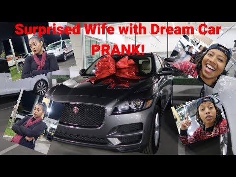 Surprised Wife With Dream Car Prank Must Watch Until The End
