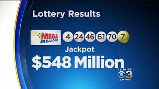 Friday Oct. 12 Mega Millions Winning Numbers