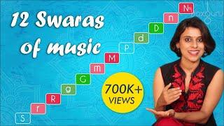 Voice Training Ep #13   12 Swara Sthanams in Music   VoxGuru