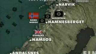 (9/10) Battlefield II The Battle of Scandinavia Ep4 World War II