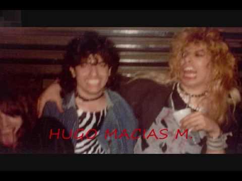 ALUCARD.- Listos para la accion . Glam  metal Mexicano 1987.Hugo Macias