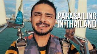 PARASAILING Adventure   THAILAND VLog   PART 1   UKHANO