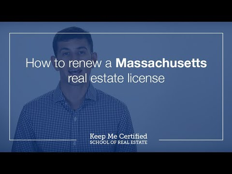 How to Renew a Massachusetts Real Estate License