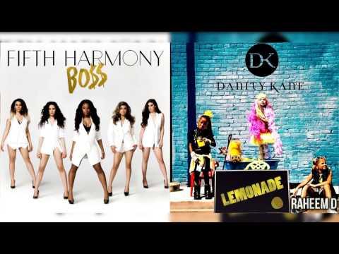 Danity Kane x Fifth Harmony - BO$$ Lemonade (Mashup) (Feat Tyga)