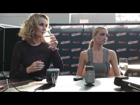 NYCC 2016: The Exorcist  with Geena Davis and Brianne Howey