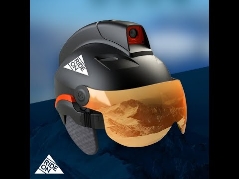 Rideon la maschera da sci con la realtà aumentata