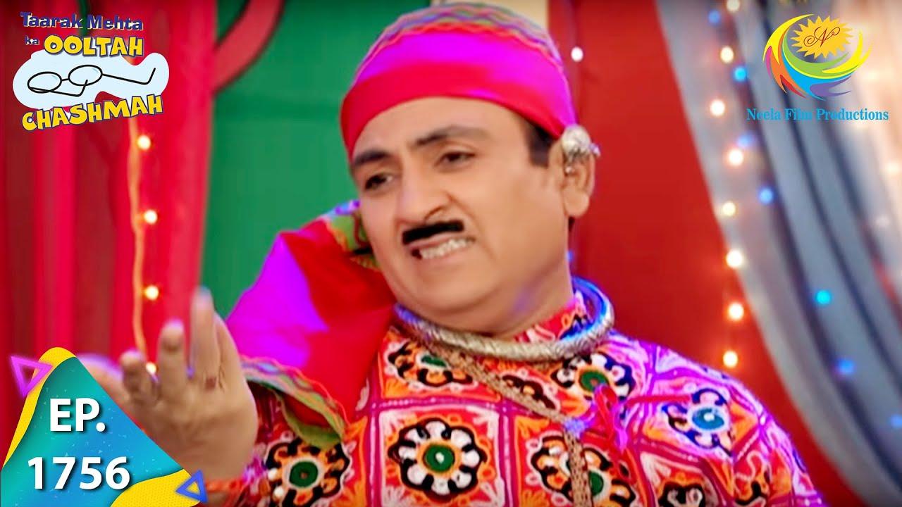 Download Taarak Mehta Ka Ooltah Chashmah - Episode 1756 - Full Episode