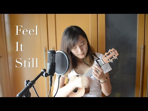 Feel It Still cover - Portugal. the Man (ukulele + lyrics + snaps + drumbeats!)