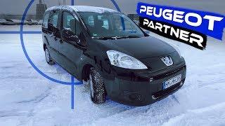 Peugeot Partner обзор авто. Отзыв владелца