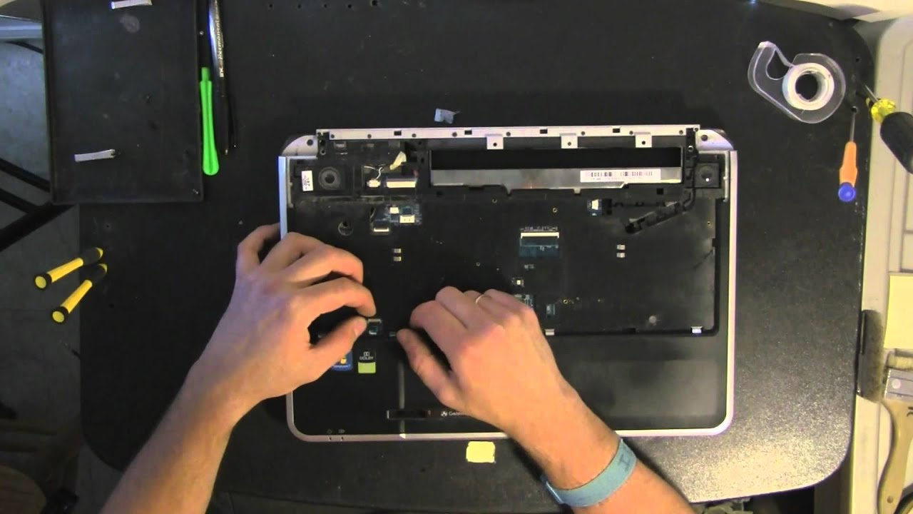 gateway ms2274 laptop take apart video disassemble how to open rh youtube com Gateway NV53 Gateway NV52 Review