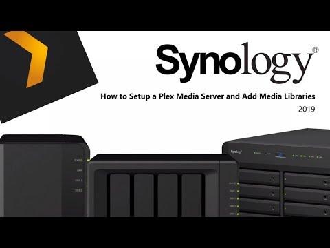 Synology Plex Setup and Adding Media in 2019