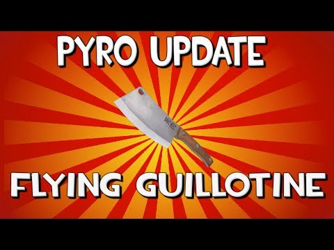 TF2 Jungle Inferno Update: NEW Flying Guillotine Demonstration