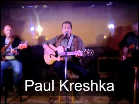 Paul Kreshka spielt auf
