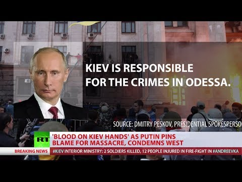 Putin: Kiev, Western allies responsible for Ukraine bloodshed