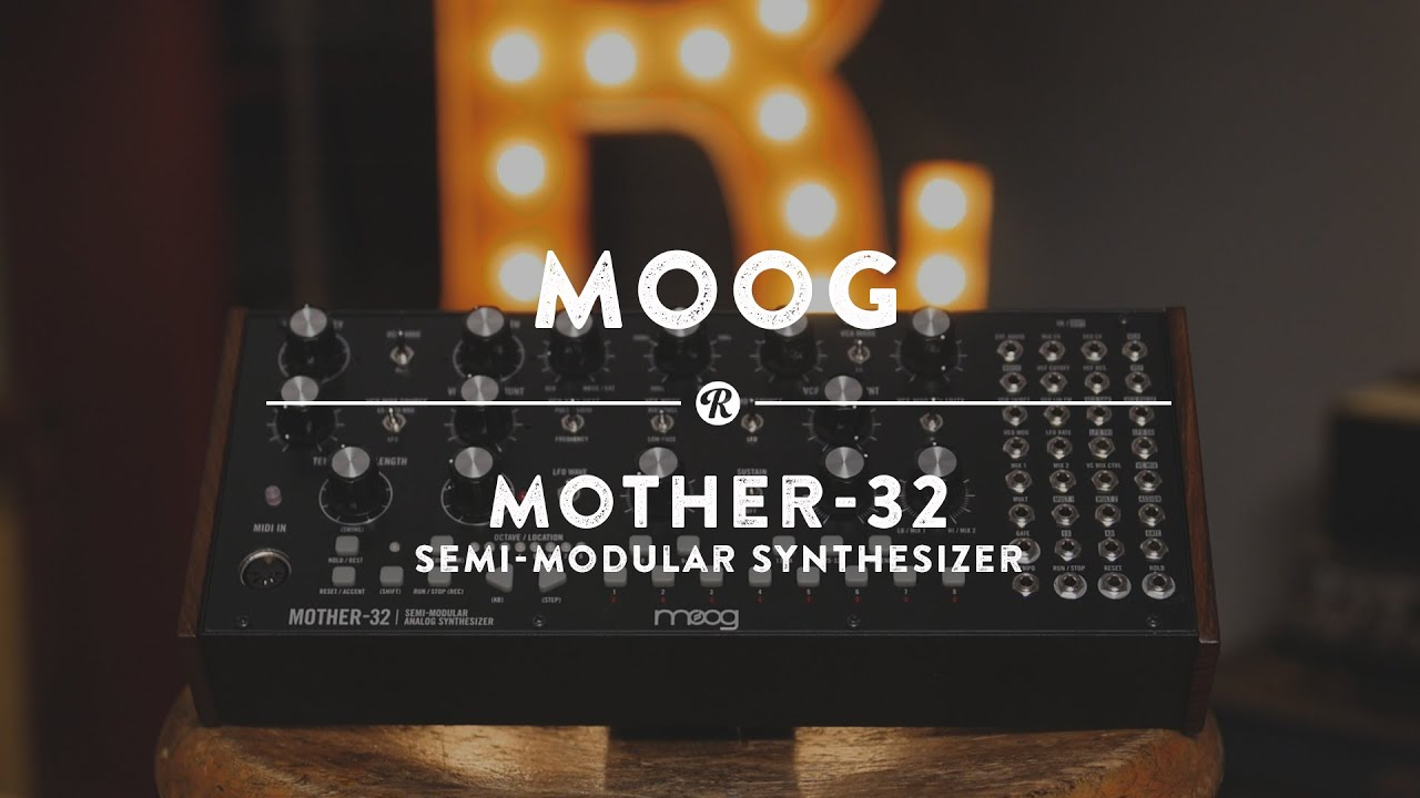 moog mother 32 semi modular synthesizer reverb demo video youtube. Black Bedroom Furniture Sets. Home Design Ideas