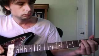 western sounding guitar idea -- interesting way to switch from c em / b bdim - electric guitar