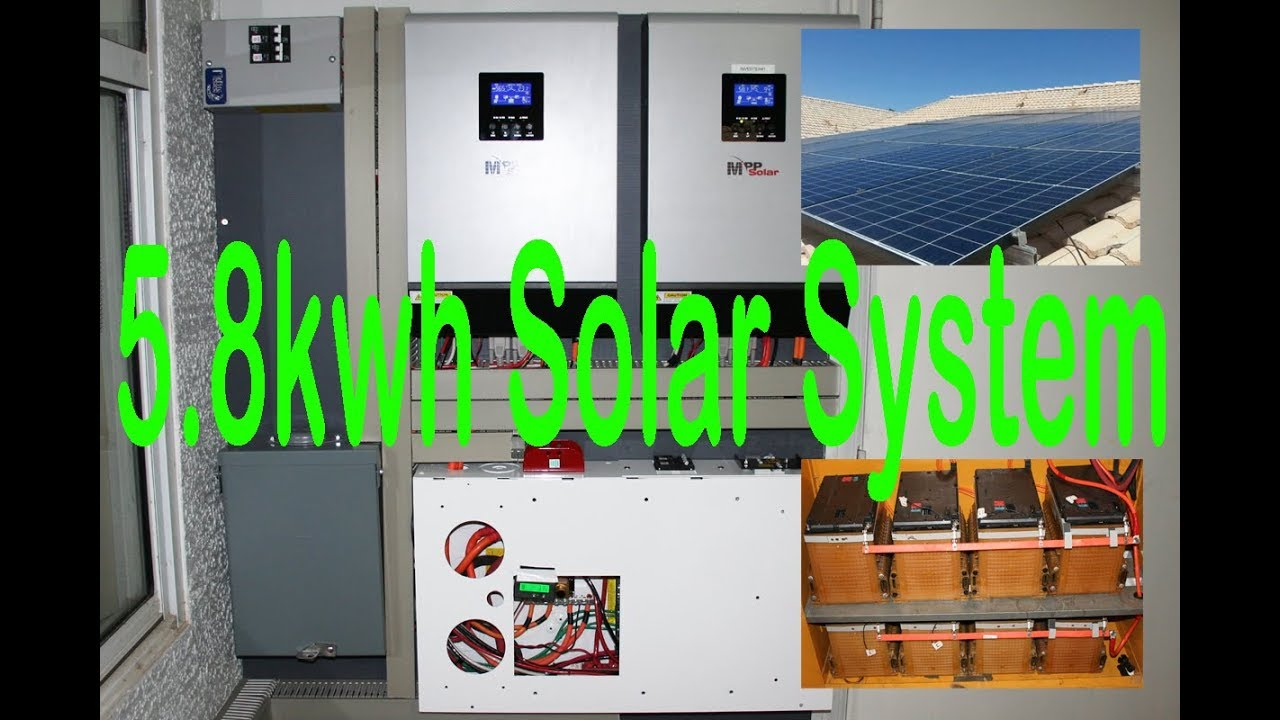 5 8kwh Solar System W 25kwh Chevy Volt Lithium And Mpp