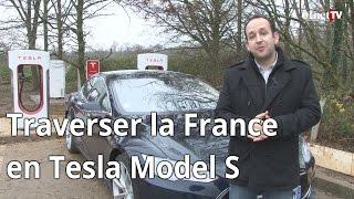 01net.com a traversé la France en Tesla Model S (01Drive)
