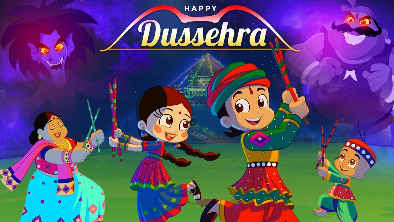Chhota Bheem - Dandiya Muqabla   Dussehra Special Video   #HappyDussehra
