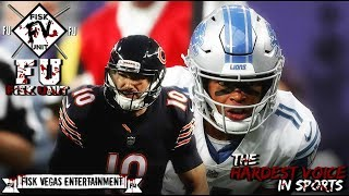 Bears vs Lions reaction: Mitchell Trubisky comes up clutch! I'm impressed