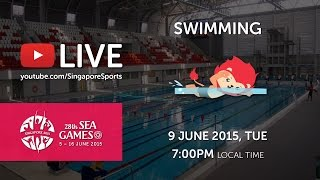 Swimming (Day 4) | 28th SEA Games Singapore 2015