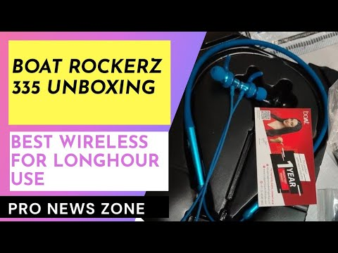 boAt Rockerz 335 Wireless Unboxing   Boat Rockers 355  Neckband with ASAP Charge   Quick Review